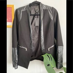Dynamite Leather  Blazer